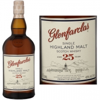 Glenfarclas 25 Year Old Highland Single Malt Scotch 750ml