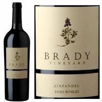 12 Bottle Case Brady Paso Robles Zinfandel 2019