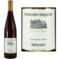 12 Bottle Case Rancho Sisquoc Santa Barbara Riesling 2017
