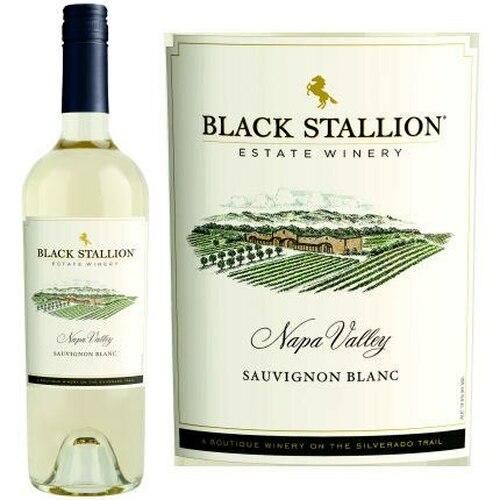12 Bottle Case Black Stallion Napa Sauvignon Blanc 2018 Rated 90WS