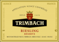 Trimbach Riesling Reserve Alsace 2011 Rated 91WS