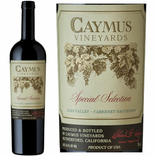 Caymus Vineyards Special Selection Napa Cabernet 2014 1.5L Rated 91WS