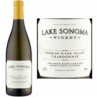 12 Bottle Case Lake Sonoma Russian River Chardonnay 2016