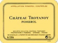 Chateau Trotanoy Pomerol 1989 6L Rated 92WS