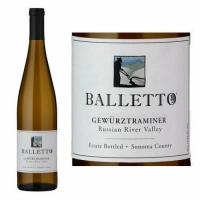12 Bottle Case Balletto Russian River Gewurztraminer 2018