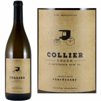 12 Bottle Case Collier Creek Front Coach Lodi Chardonnay 2017 Rated 99 DOUBLE GOLD MEDAL