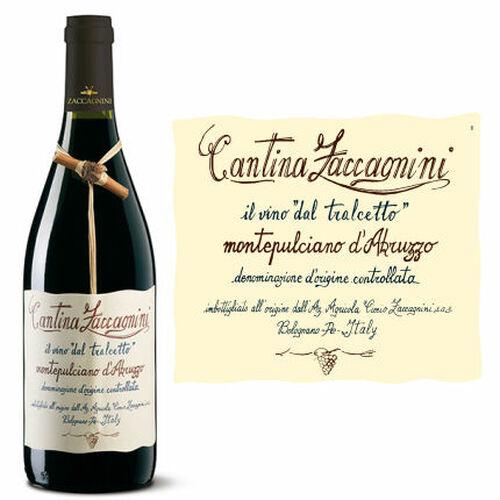 12 Bottle Case Cantina Zaccagnini Il Vino Dal Tralcetto Montepulciano d'Abruzzo DOC 2018