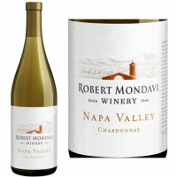 12 Bottle Case Robert Mondavi Napa Chardonnay 2018