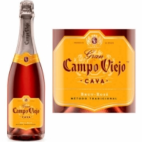 Campo Viejo Cava Brut Rose NV (Spain) Rated 88WE