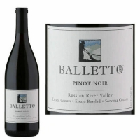 12 Bottle Case Balletto Russian River Pinot Noir 2018