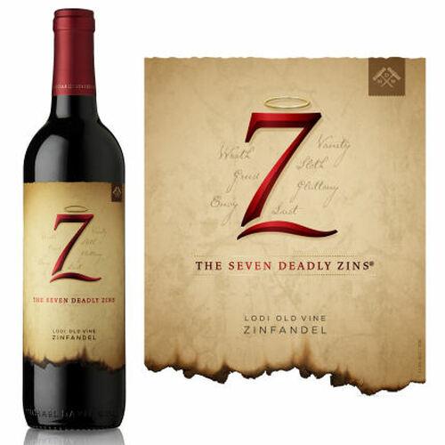 12 Bottle Case The Seven Deadly Zins Lodi Zinfandel 2017