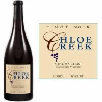12 Bottle Case Chloe Creek Sangiacomo Vineyard Sonoma Coast Pinot Noir 2014