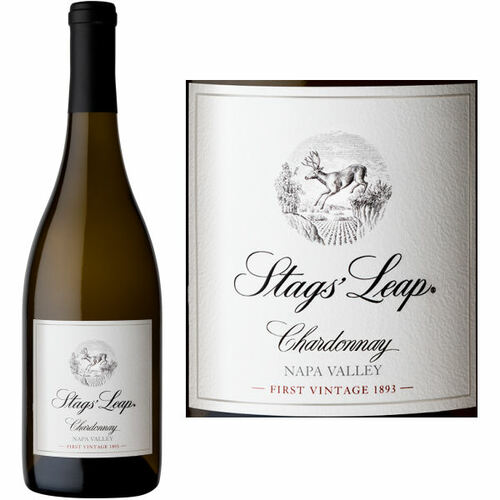 12 Bottle Case Stags' Leap Winery Napa Chardonnay 2019