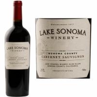 12 Bottle Case Lake Sonoma Sonoma Cabernet 2017