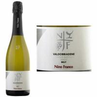 12 Bottle Case Nino Franco Prosecco Brut DOCG NV Rated 92WE