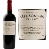 12 Bottle Case Lake Sonoma Alexander Cabernet 2017