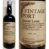 Dow's Special Label Vintage Port 1890