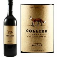 12 Bottle Case Collier Creek Crafty Fox Lodi Merlot 2018