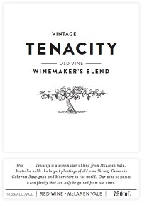 Tenacity Old Vine Winemaker's Blend 750ml