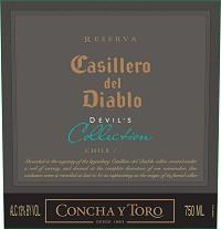 Casillero Del Diablo White Devil's Collection 750ml