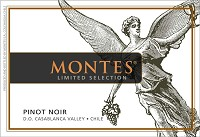 Montes Pinot Noir Limited Selection 750ml