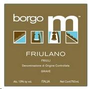 Borgo M Friulano 750ml