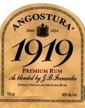 Angostura Rum 1919 750ml