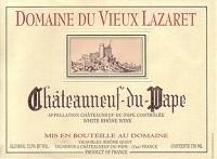 Domaine Du Vieux Lazaret Chateauneuf-du-pape Blanc 750ml
