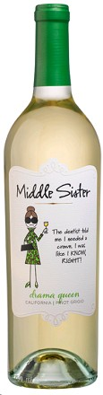 Middle Sister Pinot Grigio Drama Queen 750ml