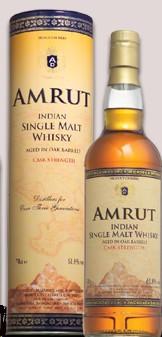 Amrut Whisky Single Malt Cask Strength 750ml