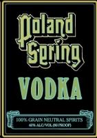 Poland Spring Vodka 1.75L