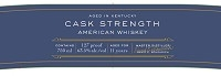 Boondocks Whiskey Cask Strength 750ml