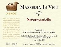 Li Veli Susumaniello Askos 750ml