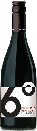 Six Degrees Pinot Noir 750ml