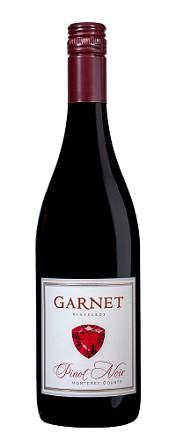 Garnet Vineyards Pinot Noir Monterey County 750ml
