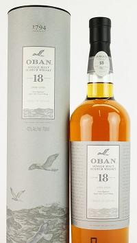 Oban Scotch Single Malt 18 Year 750ml