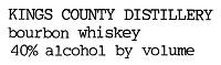 Kings County Bourbon 375ml