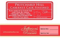Jefferson's Bourbon Reserve Pritchard Hill Cabernet Cask Finished 750ml
