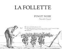 La Follette Pinot Noir North Coast 750ml