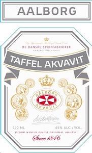 Aalborg Akvavit Taffel 750ml