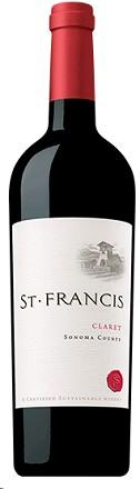 St. Francis Claret 750ml