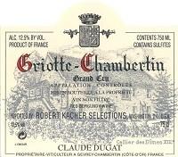 Claude Dugat Griotte Chambertin 750ml