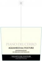 Piano Del Cerro Aglianico Del Vulture 750ml