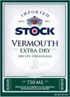 Stock Vermouth Extra Dry 1L