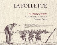 La Follette Chardonnay Sangiacomo Vineyard 750ml