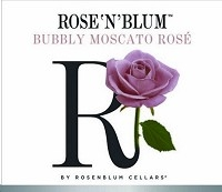 Rose'n'blum Bubbly Moscato Rose 750ml