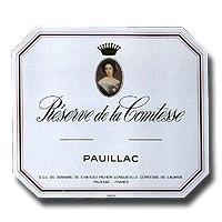 Chateau Pichon Lalande Pauillac Reserve De La Comtesse 750ml