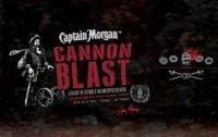 Captain Morgan Rum Cannon Blast 1L