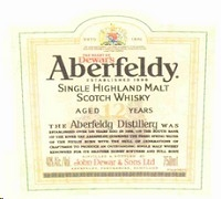 Aberfeldy Scotch Single Malt 12 Year 750ml