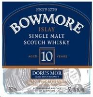 Bowmore Scotch Single Malt 10 Year Dorus Mor 750ml